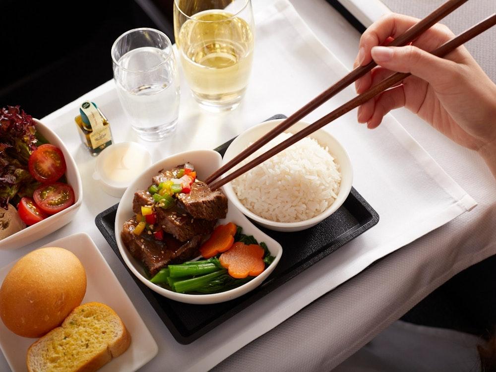 Enjoy your inflight menu | Australia holiday