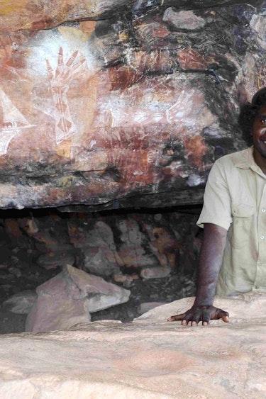 Australien Kakadu Nationalpark Aborigine