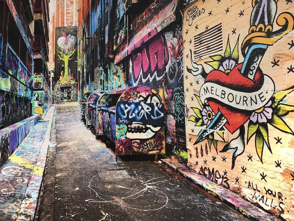 Street art Melbourne | Australia holiday