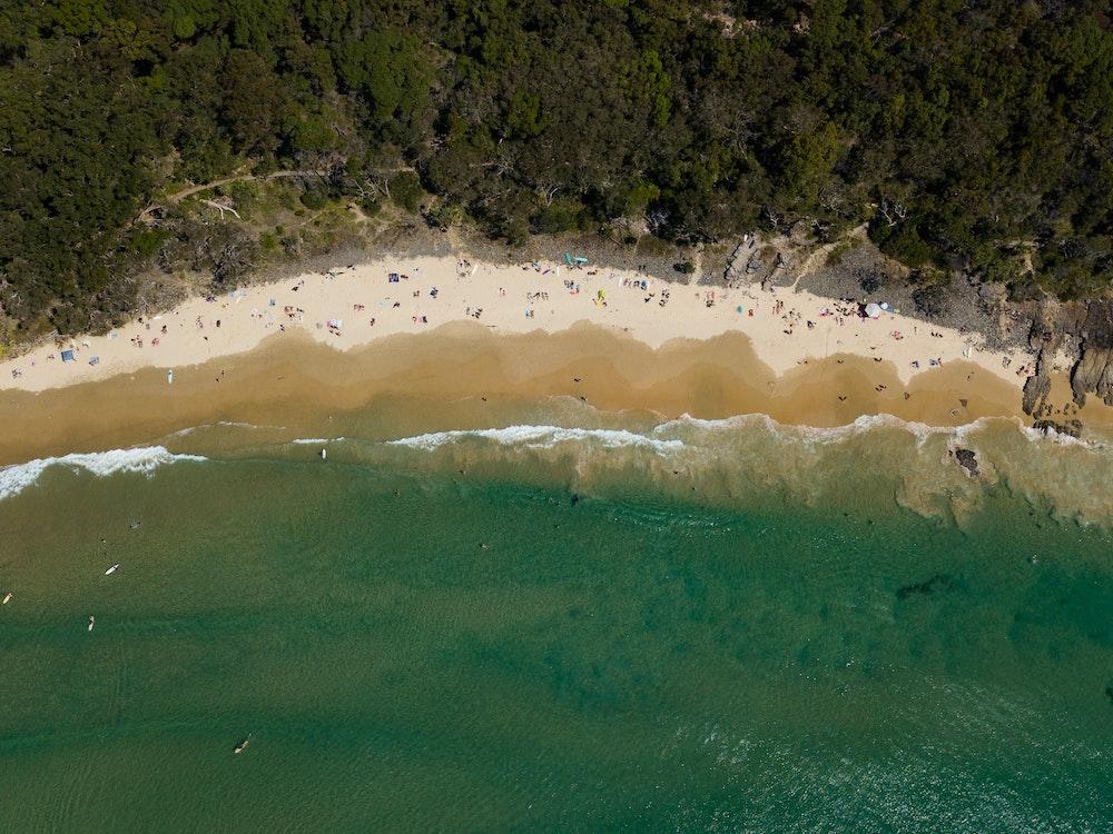 Noosa beach   Australia holiday