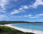 White sand clear blue water | Australia holiday
