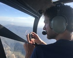 View Grampians from helicopter | Australia adventure holiday