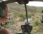 Thrilling helicopter ride | Australia holiday