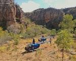 Nitmiluk helicopter experience | Australia holiday