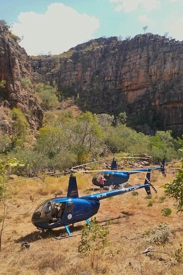 Australien Nitmiluk Nationalpark Helikopter Tour