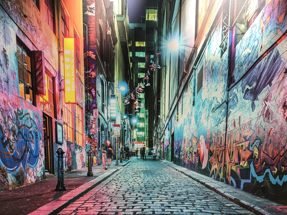 Melbourne street art | Australia holiday