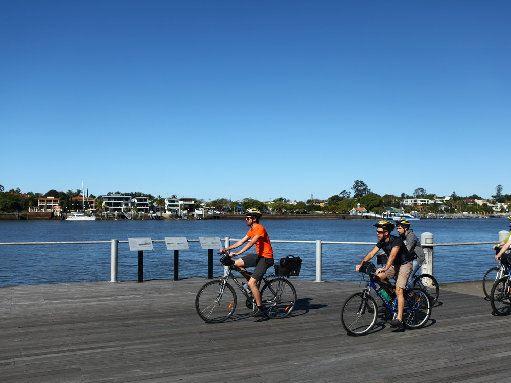 Cycle through exciting Brisbane | Australia kids holiday