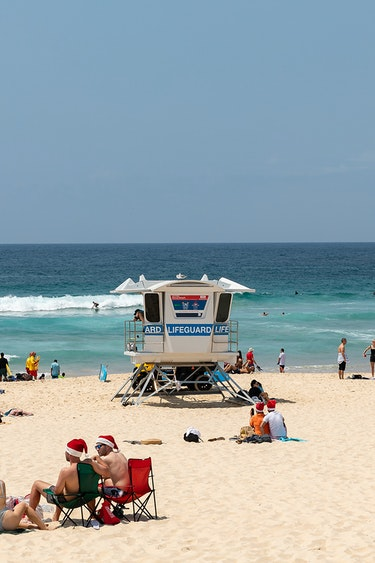au beach christmas family best time header