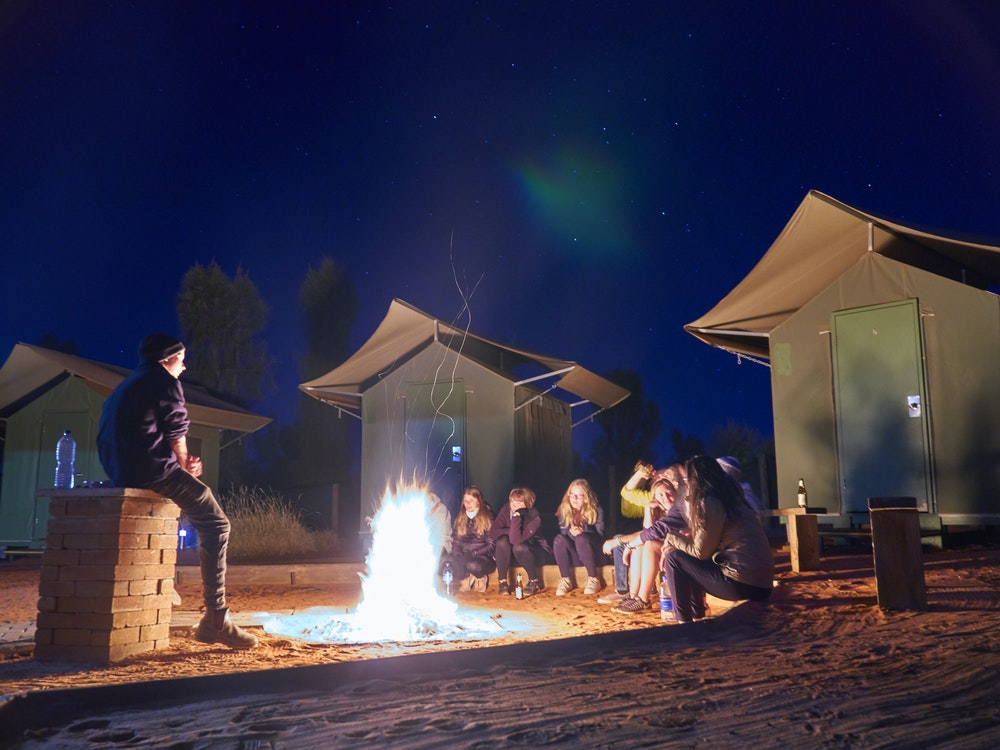 Campfire in the Outback | Australia kids holiday