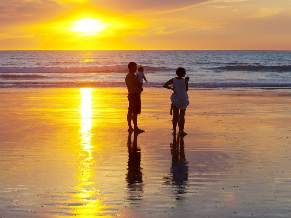 Gorgeous Beach Sunset | Australia family holiday
