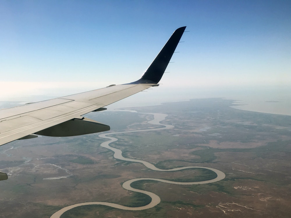 Fly over the river | Australia holiday