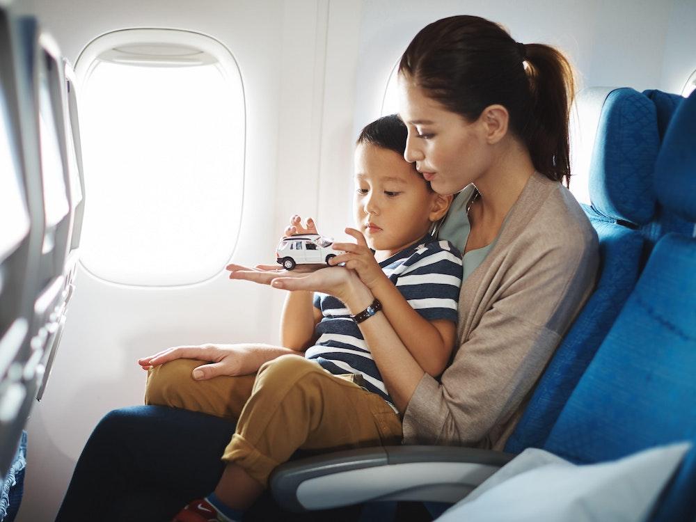 Family friendly flight | Australia kids holiday