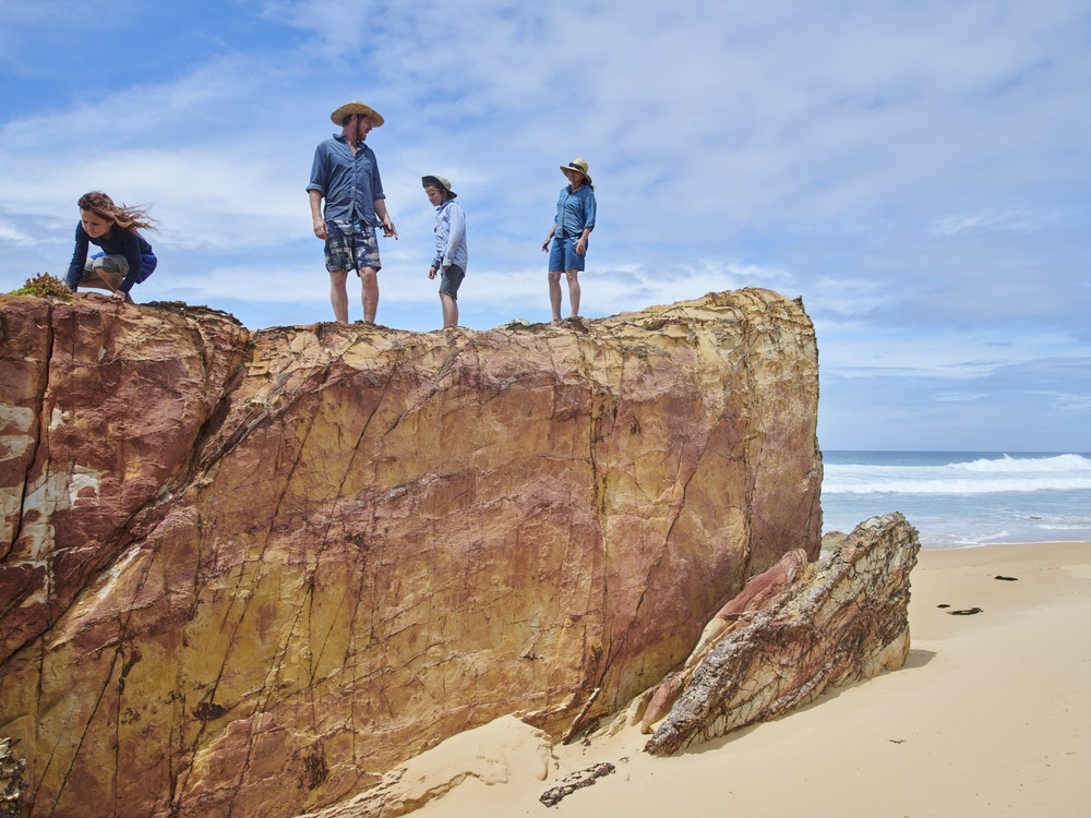 Having fun on the rocks | Australia family holiday