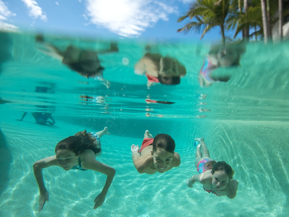 Enjoy your own private pool | Australia family holiday