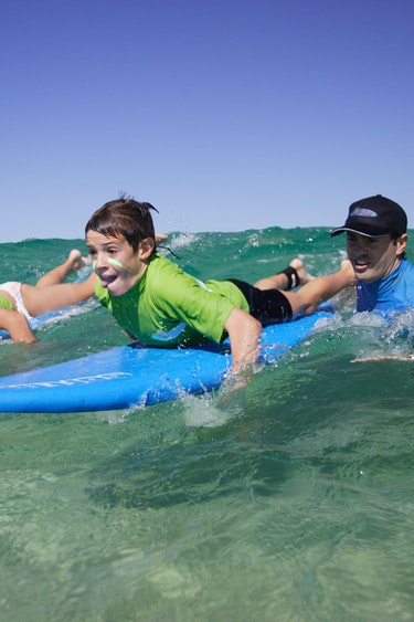 Au lets go surfing the bondi surf experience  family see and do header