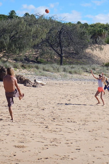 Aus 1770 local beach tour family see and do easy going