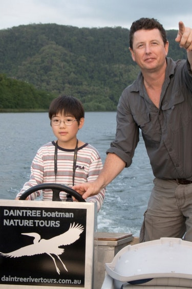 Aus daintree river cruise kids family see and do easy going
