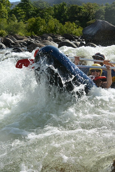 Aus mission beach water rafting family see and do adventurous