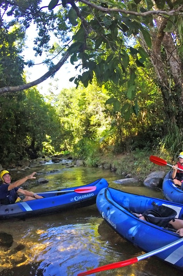 Aus mission beach water rafting nature family see and do adventurous