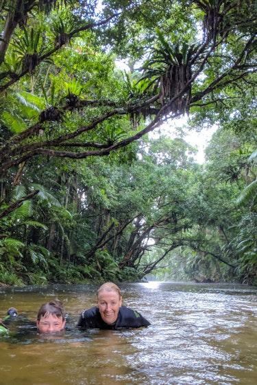 Aus port douglas rainforest kids family see and do easy going