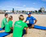 Kids learning how to surf | Australia family holiday