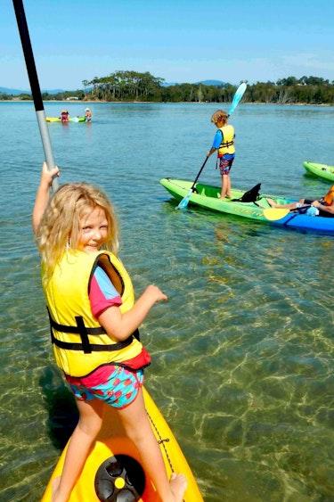 Auz region x kayak adventures 1 family active