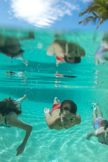 Aus noosa beach house kids swimming family stays comfortable
