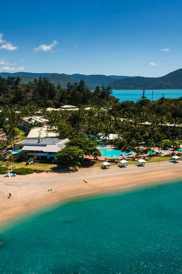 Aus tropical island sea beach view family stays luxury