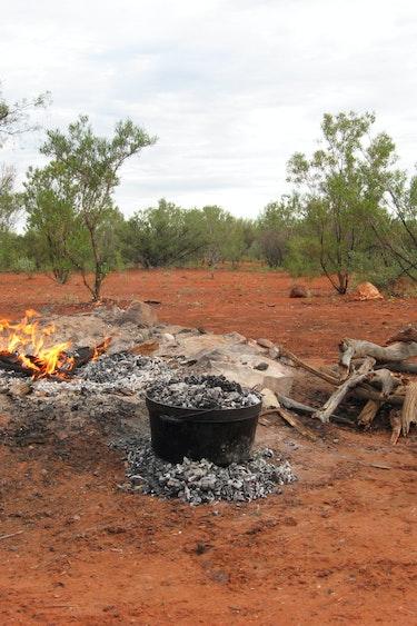 aus camp fire