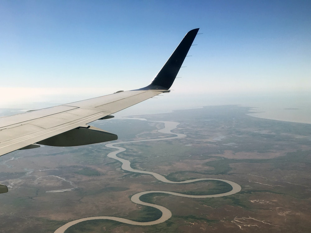 Capture stunning views over Australia's vast landscape