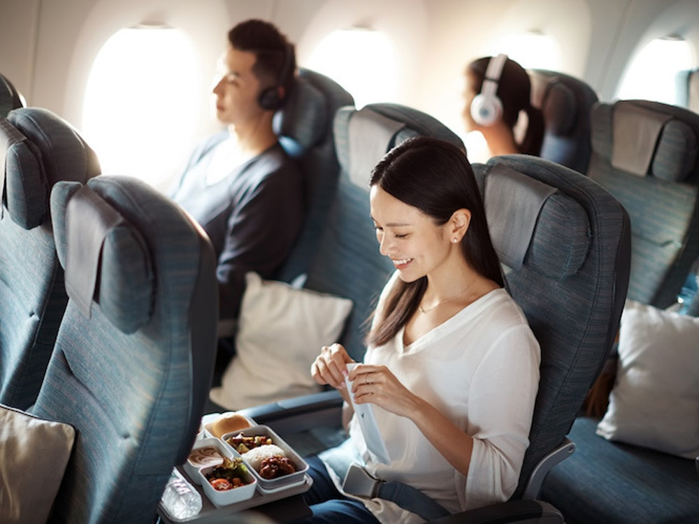 Benefit from world-class service on your flight to Australia