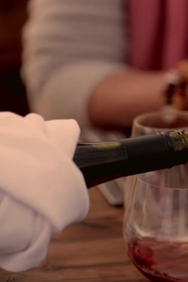 Au outback dinner wine friends see and do easy going