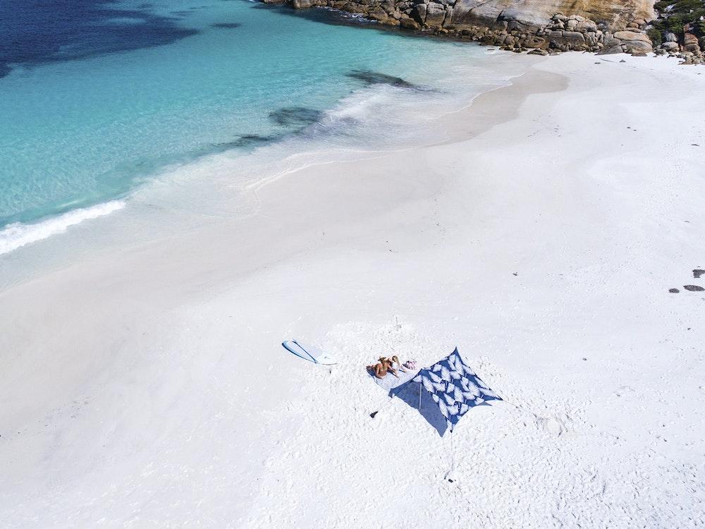 Enjoy relaxing days on the beach