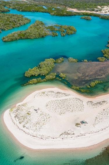 aus broome coastline scenic flight