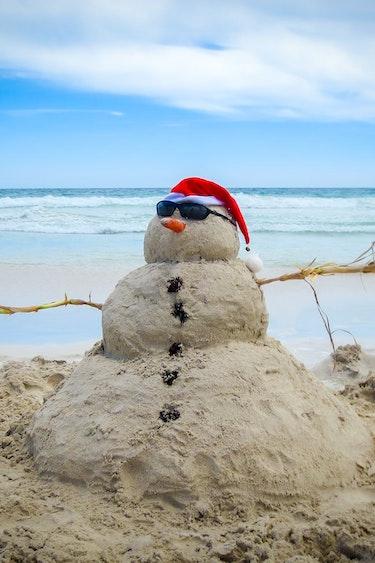 aus christmas in australia adelaide beach