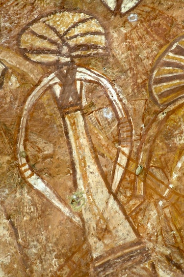 Australien Kakadu Nationalpark Felszeichnungen