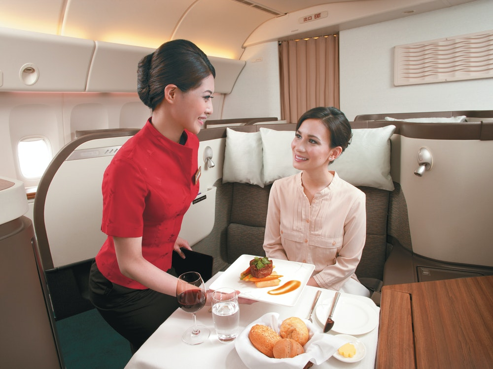 Enjoy world-class service on Cathay Pacific flights