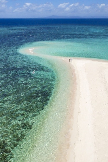 Aus great barrier reef snorkeling beach sea partner see and do active