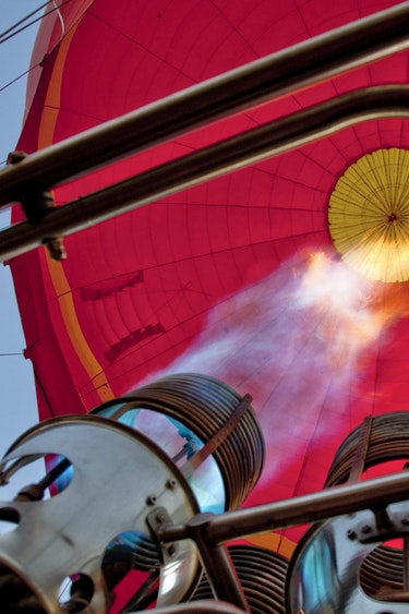 Aus outback air balloon fire partner see and do easy going