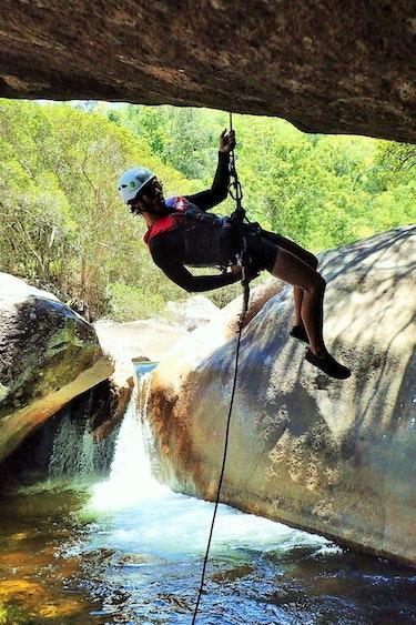 Auz behana canyoning 4 partner adventure
