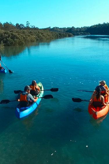 Auz region x kayak adventures 4 partner active