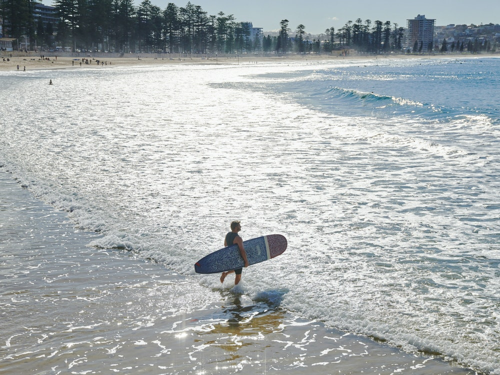 Go surfing at some of the best beaches in the world