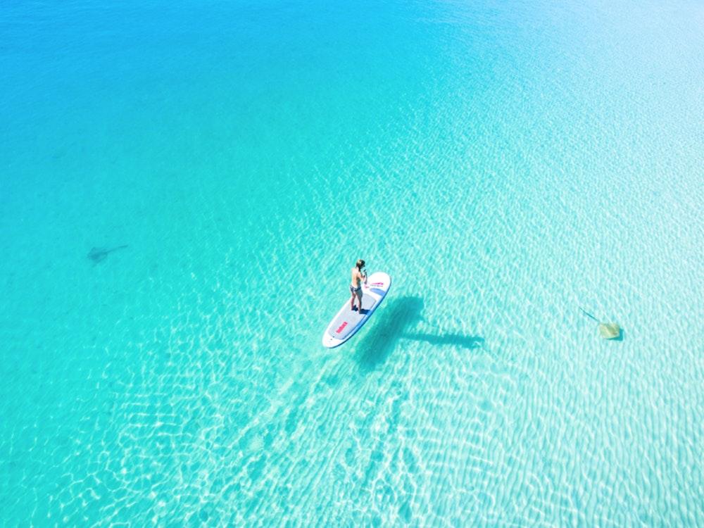 Discover the whitsundays paddleboarding