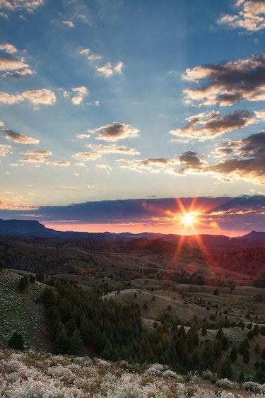 Au arkaba flinders ranges sunrise personal page solo best travel time