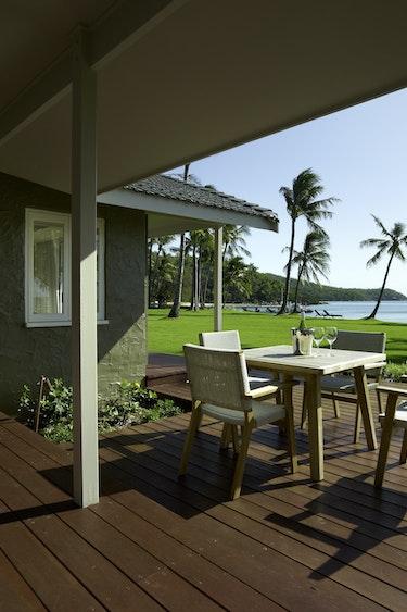 Au queensland remote island hotel terrace solo stays luxury
