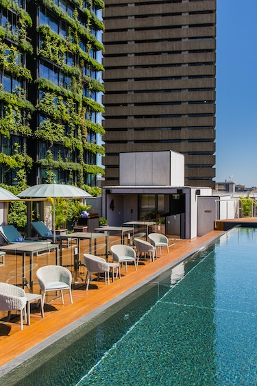 Au sydney boutique hotel rooftop pool solo stays very comfortable
