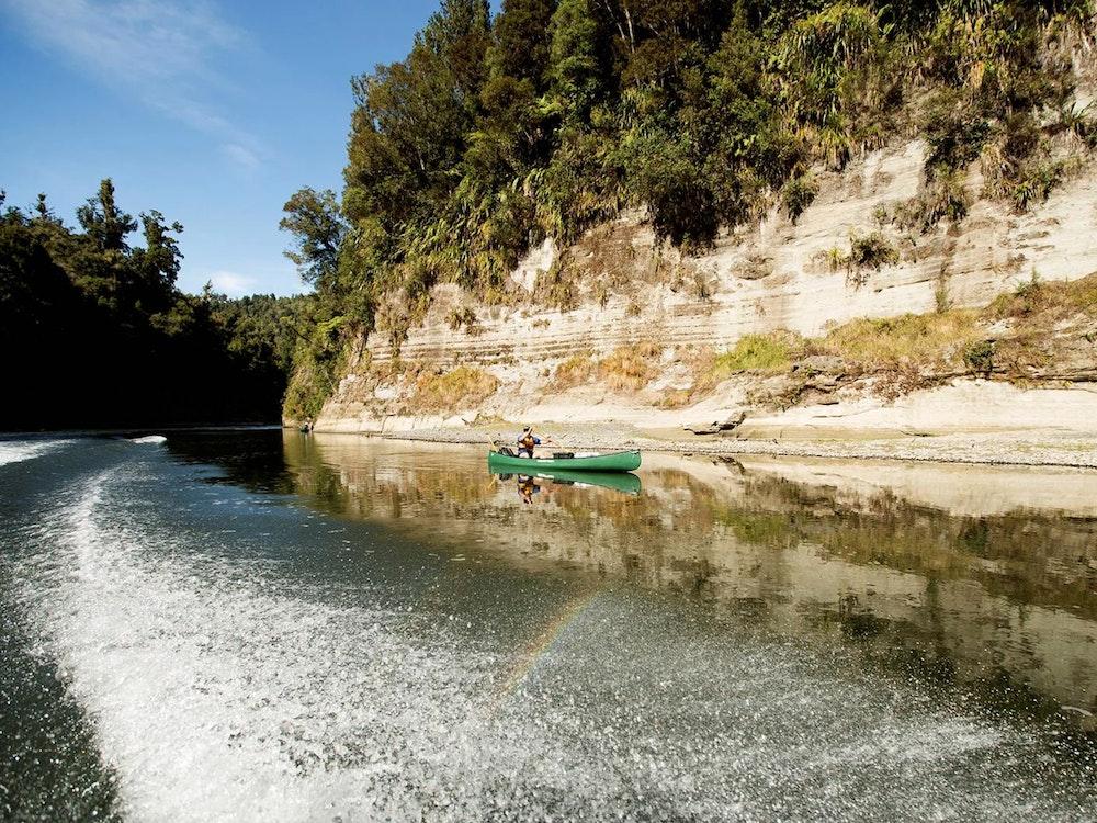 Canoe the length of Whanganui River