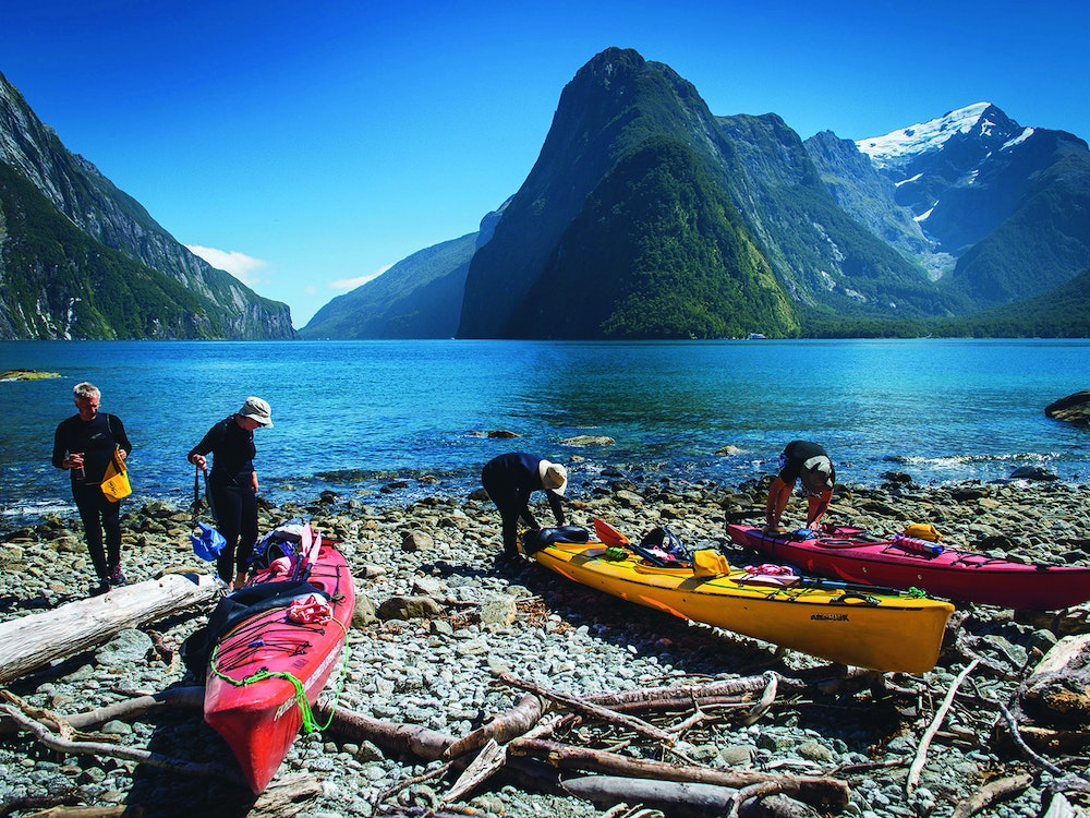 Kayak the waters of Doubtful Sound and spot wildlife