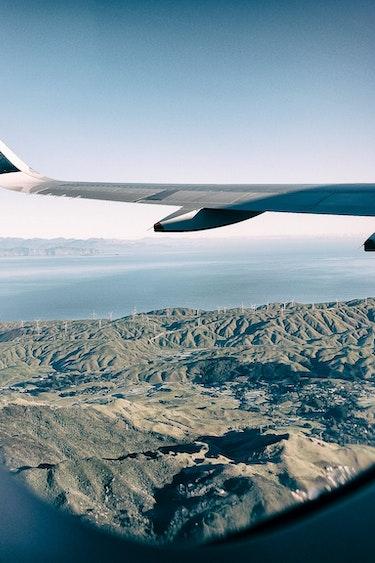 Air newzealand plane window