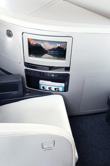 Air nz business premier seat 3